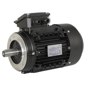 Billede af Elmotor 950 rpm, 1,1kW   1,5hk, B14 lille flange, 3 faset
