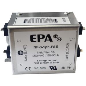 Billede af EMC | RFI filter 1 faset 230V, 3Amp. Type NF-3-1ph-FSE