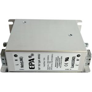 Billede af EMC | RFI filter 1 faset 230V, 16Amp. Type NF-16-1ph-MHU
