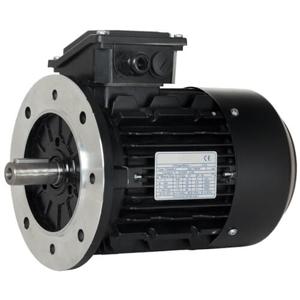 Billede af Elmotor 2890 rpm, 1,1kW | 1,5hk, B5 stor flange, 3 faset