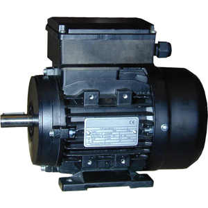 Billede af Elmotor 1400 rpm, højt startmoment 0,55kW   0,75hk, B3 fodmotor, 1 faset 230V