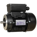 Billede af Elmotor 1400 rpm, lavt startmoment 0,25kW | 0,34hk, B14 lille flange, 1 faset 230V