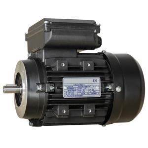 Billede af Elmotor 2790 rpm, højt startmoment 0,55kW | 0,75hk, B14 lille flange, 1 faset 230V