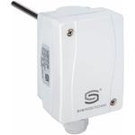 Billede af Dykrørs termostat, 150mm rustfri dykrør. Med indvendig indstilling. Måleområde 0...+90°C IP65.