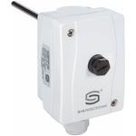 """Billede af Dykrørs termostat """"STB"""" sikkerhedstemperaturbegrænser, 150mm messing dykrør. Måleområde +90...+110°C IP65."""