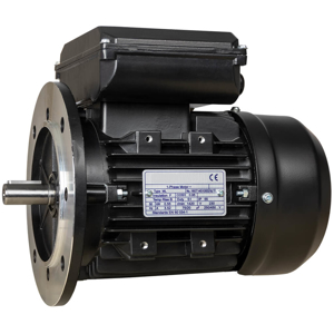 Billede af Elmotor 2810 rpm, højt startmoment 2,2kW | 3hk, B5 stor flange, 1 faset 230V