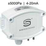 Billede af Differenstryktransmitter | 4-20mA | ±5000 Pa | til luft