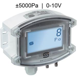 Billede af Differenstryktransmitter | 0-10V | ±5000 Pa | Display | til luft