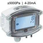 Billede af Differenstryktransmitter | 4-20mA | ±5000 Pa | Display | til luft