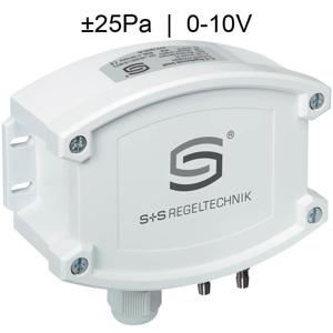 Billede af Differenstryktransmitter til renrum.| Maks. måleområde ±25 Pa | 0-10V udgangssignal