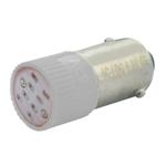 Billede af Hvid BA9s LED 24V AC/DC