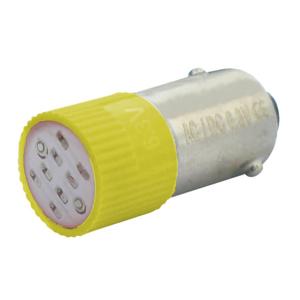 Billede af Gul BA9s LED 230V AC/DC