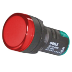 Billede af Rød signallampe med LED 24V AC/DC til indbygning