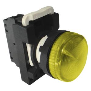 Billede af Gul signallampe 230V AC/DC