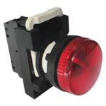 Billede af Rød signallampe 230V AC/DC