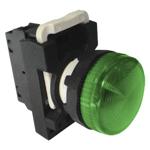 Billede af Grøn signallampe 230V AC/DC
