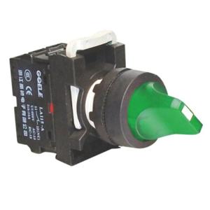 Billede af Drejegreb 0-1 grøn lampe 24V AC/DC