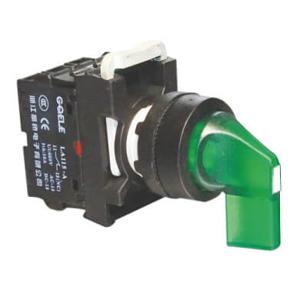 Billede af Drejegreb lang 1-0-2 grøn lampe 24V AC/DC