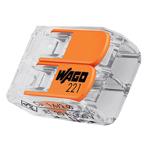 Billede af Wago samlemuffe til 2 leder max. 4 mm²