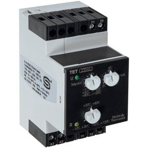 Billede af Elektronisk termostat til DIN skinne. Styrespænding 230V/AC