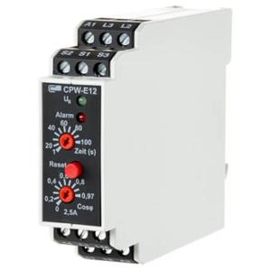 Billede af Belastningsvagt (cos Phi) til overvågning af elmotorer. Måleområde 0,2-2,5 Amp