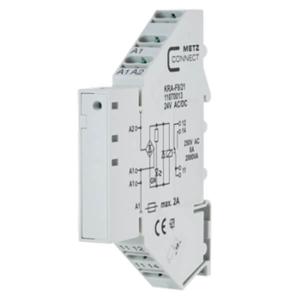 Billede af Interface   hjælpe relæ 24V, 1 omskifter, 8Amp
