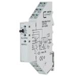 Billede af Interface | hjælpe relæ 24V, 1 omskifter, 8Amp. Manuel-0-Auto kontakt håndbetjening + Alarm LED