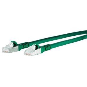 Billede af Ethernet kabel Cat 6a - grøn, Båndbredde 500 MHz