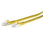 Billede af LAN kabel Cat 6a - gul, Båndbredde 500 MHz