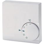 Billede af Rumtermostat til regulering af varme / køle. Indstilling 5...30°C | Termostaten har omskifter så den kan anvendes til varme eller køle.