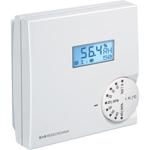 Billede af Elektronisk hygrometer med display til vægmontering. 2 omskifter 24V, 0-10V udgangssignal