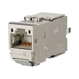 Billede af CAT6A Konnektor  180°, byggeform modul