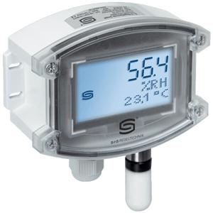Billede af Fugt - temperatur føler 2 x 4-20mA | Display | IP65 | ± 2%