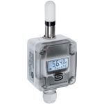Billede af Universal fugt-  temperaturføler | display | væg | 2 x 4-20mA | IP65