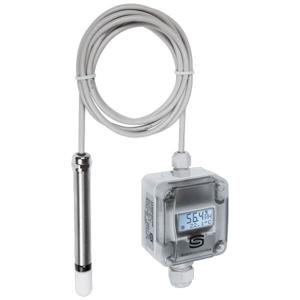 Billede af Fugt- temperaturføler | display | kabel sensor | 2 x 0-10V | ± 2%