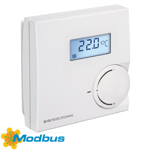 Billede af Modbus rumtemperaturføler med potentiometer og display