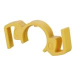 Billede af Låseclips til IP67 stik - farve gul. Pris er for en pose med 5 stk.