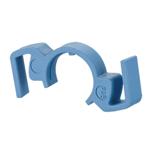 Billede af Låseclips til IP67 stik - farve blå. Pris er for en pose med 5 stk.