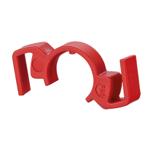 Billede af Låseclips til IP67 stik - farve rød. Pris er for en pose med 5 stk.