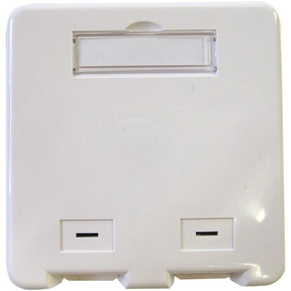 Billede af Netværksdåse til to keystone konnektor