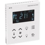Billede af Modbus rumcontroller hvid | touch til temperatur | ventilation | belysning | til stede