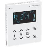 Billede af Modbus rumcontroller hvid | touch til temperatur | ventilation | sol afskærmning | til stede