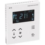Billede af Modbus rumcontroller hvid | touch til temperatur | ventilation | til stede