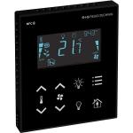 Billede af Modbus rumcontroller sort | touch til temperatur | ventilation | belysning | til stede