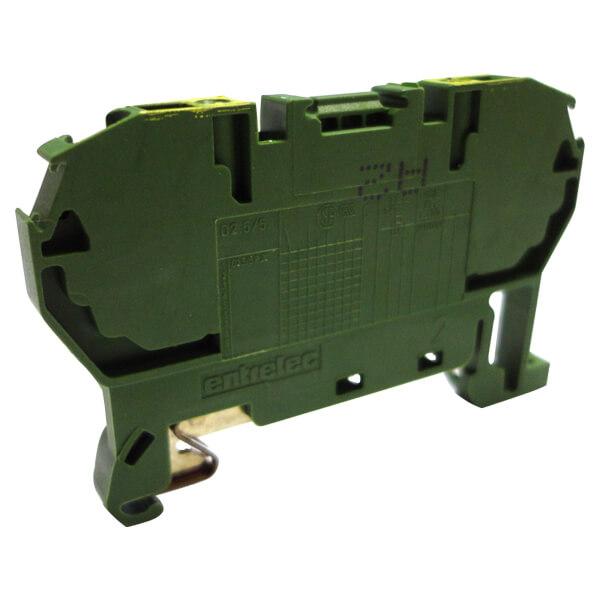Billede af 1SNA290029R0700 gul/grøn fjederklemme 2,5 mm² D 2,5/5.P.2L