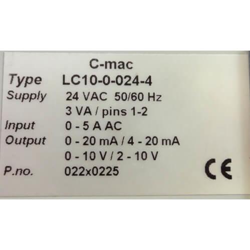 Billede af Brugt signalkonverter - fabrikat C-mac type LC10