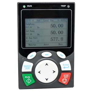Billede af LCD keypad til frekvensomformer GD350