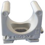 Billede af M20 rørholder | clips til elektrikerrør