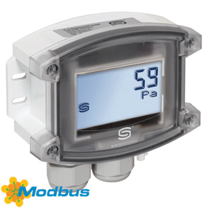 Billede af Modbus tryktransmitter   ±7000 Pa   Display   luft