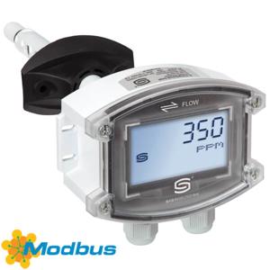 Billede af Kanal modbus CO2 | VOC | fugt | temperatur med display